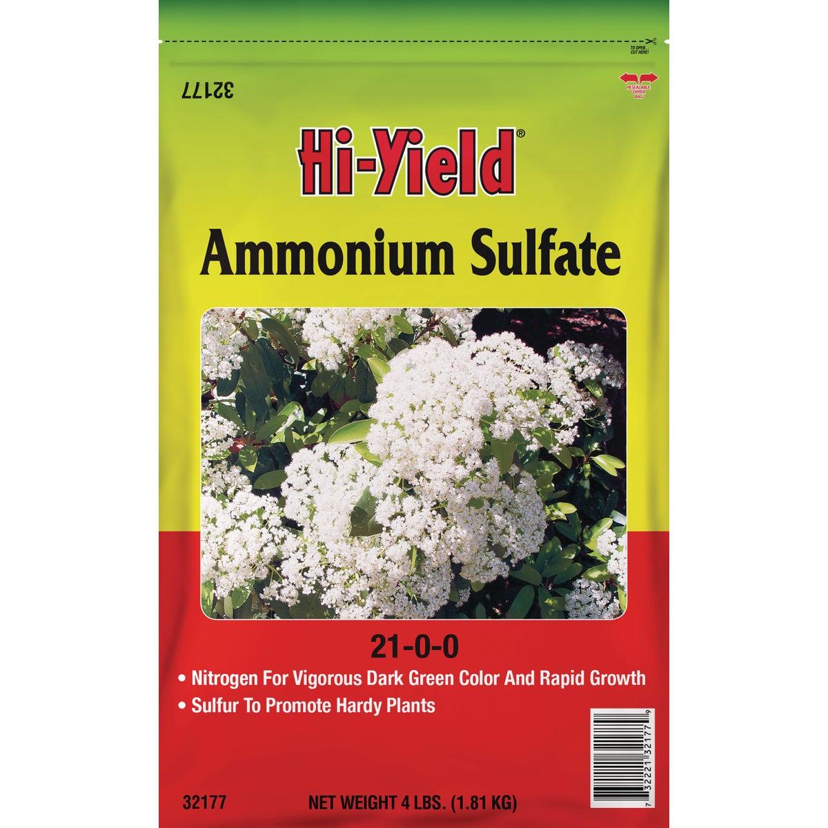4LB AMMONIUM SULFATE - 32177 by Vpg Fertilome