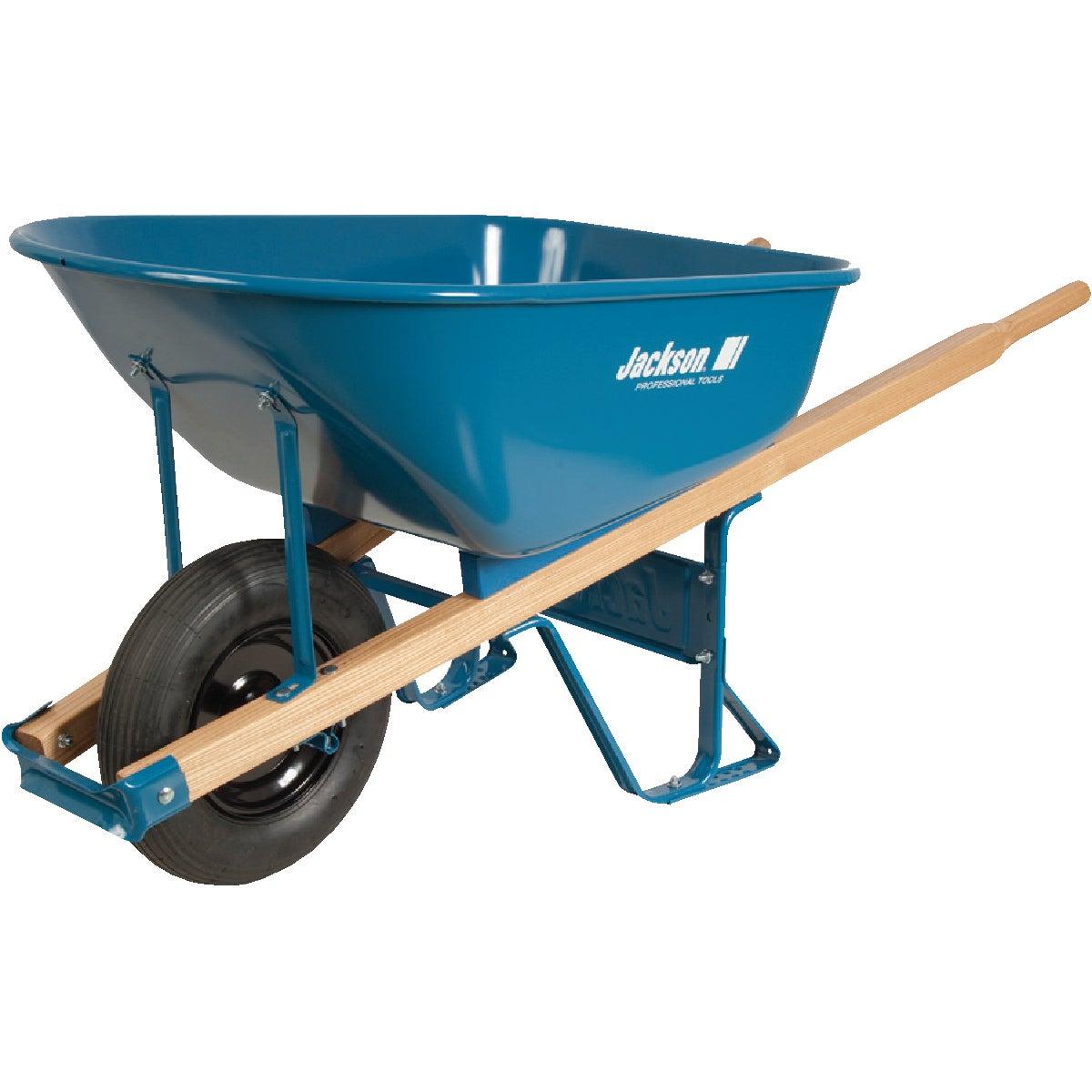 Jackson Professional Steel Wheelbarrow, M6T22