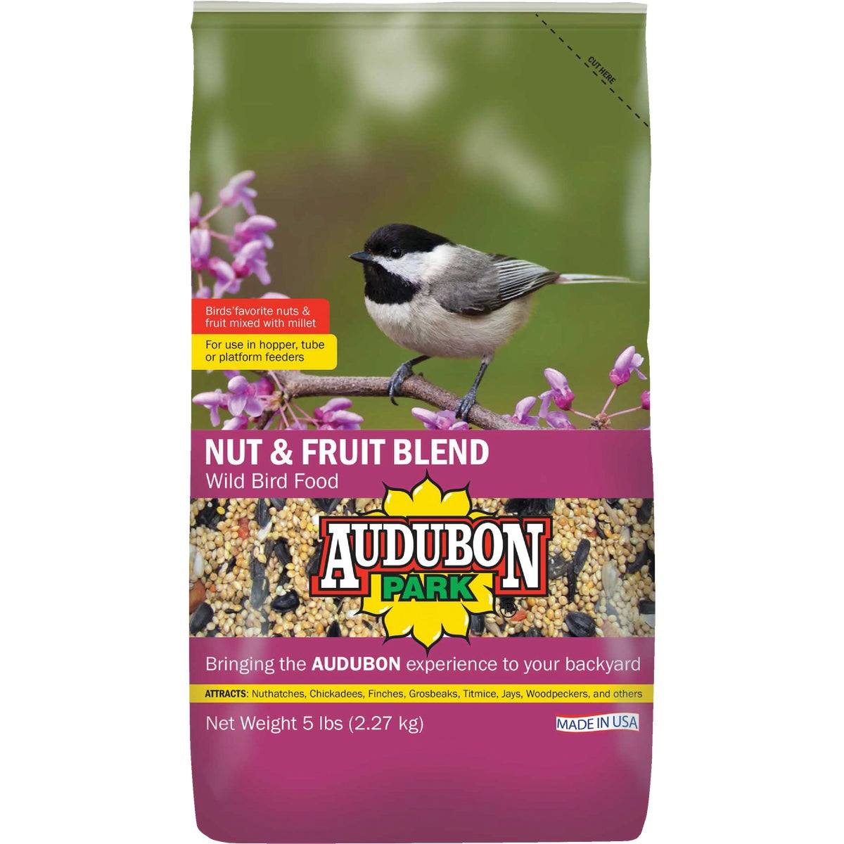 NUT & FRUIT BLEND 7LB - 1022210 by Scotts Songbird