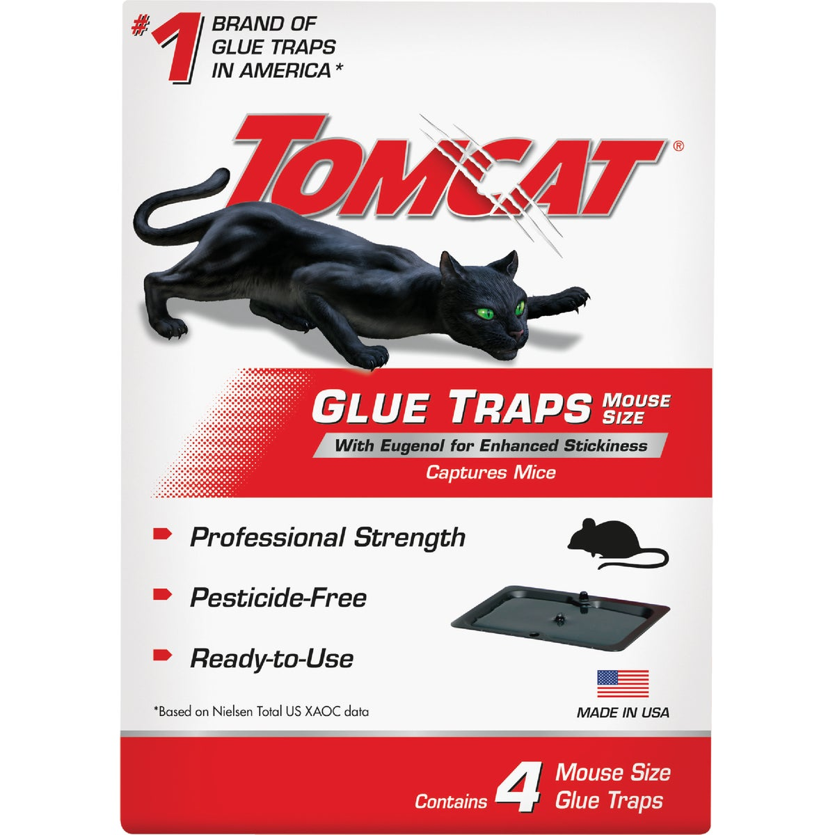 4PK MOUSE GLUE TRAP - BL32413 by Motomco Ltd