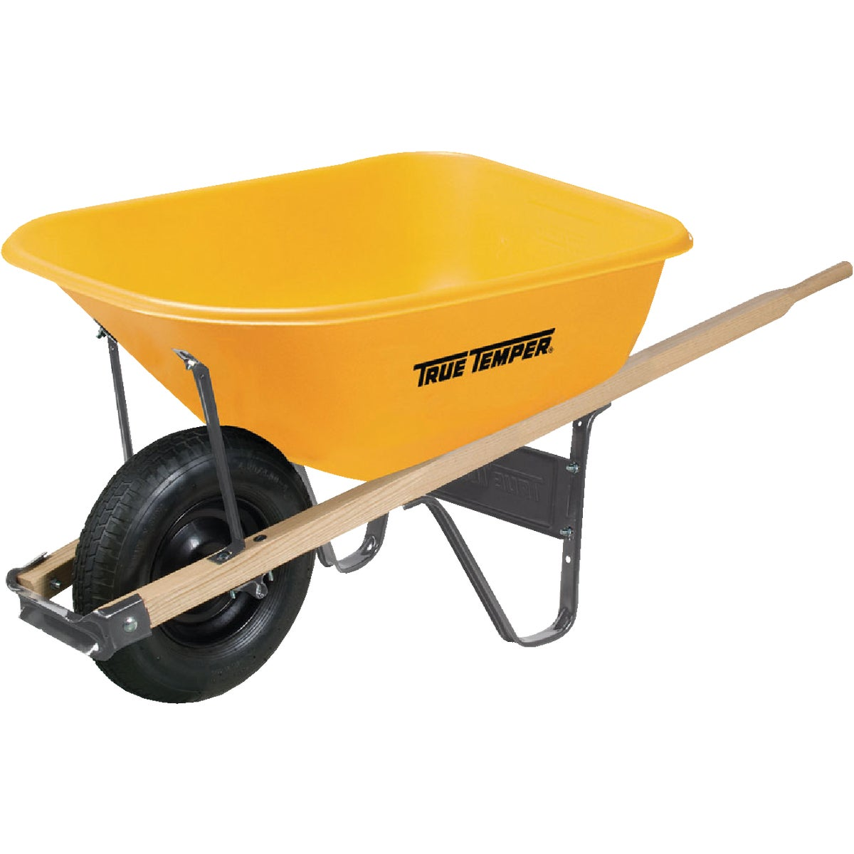 6 CU FT POLY WHEELBARROW