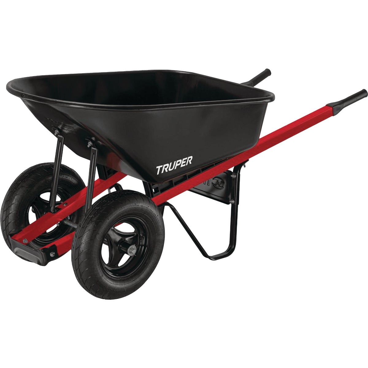 6CUFT STEEL WHEELBARROW - TS6-2W by Truper Herramientas