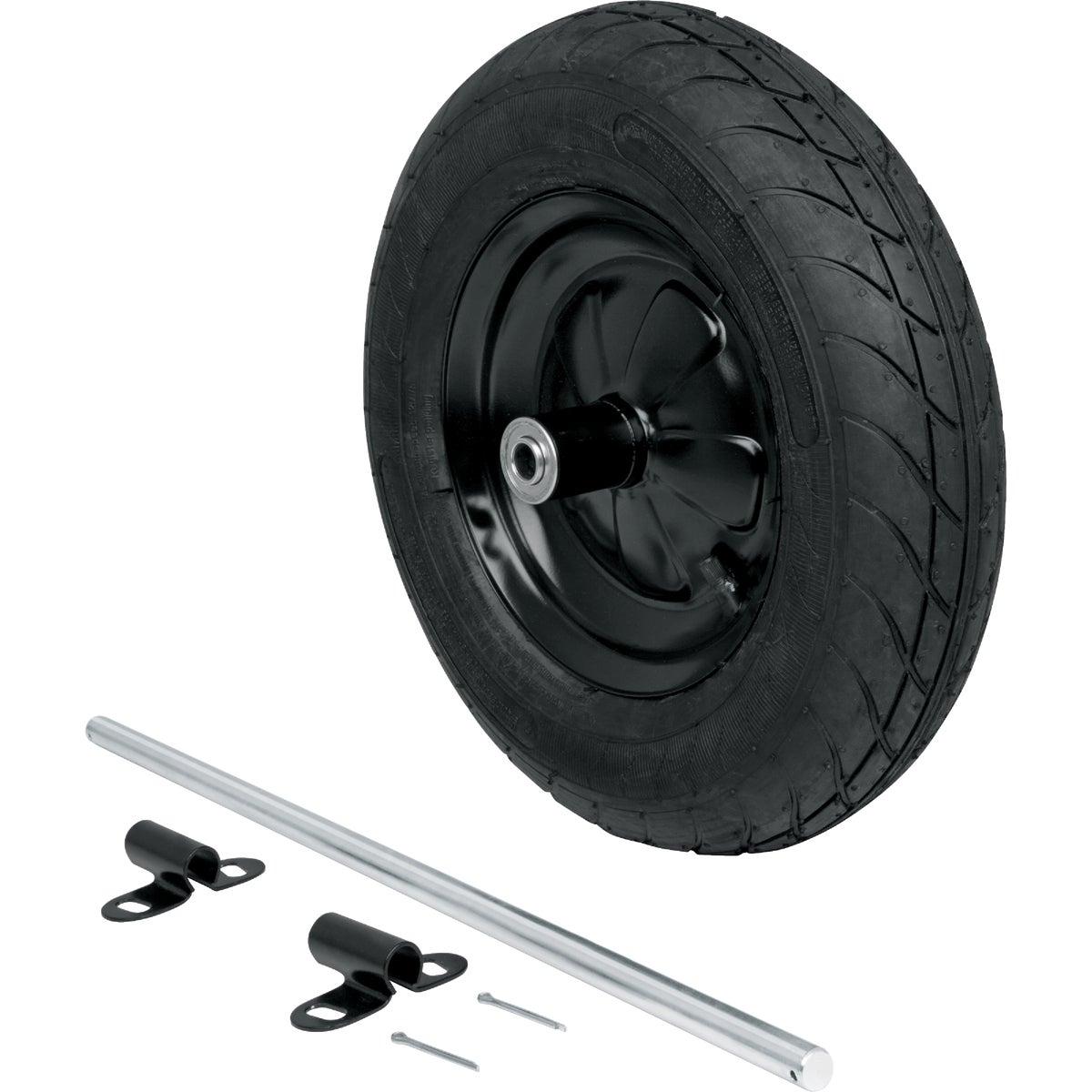 Wheelbarrow Tire Conversion Kit, 2WK