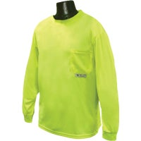 Radians Rad Wear Long Sleeve Safety T-Shirt, ST21-NPGS-XL