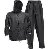 West Chester 3-Piece Black Rain Suit, 44520/L