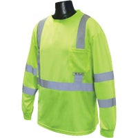 Radians Rad Wear Class 3 Long Sleeve Safety T-Shirt, ST21-3PGS-L