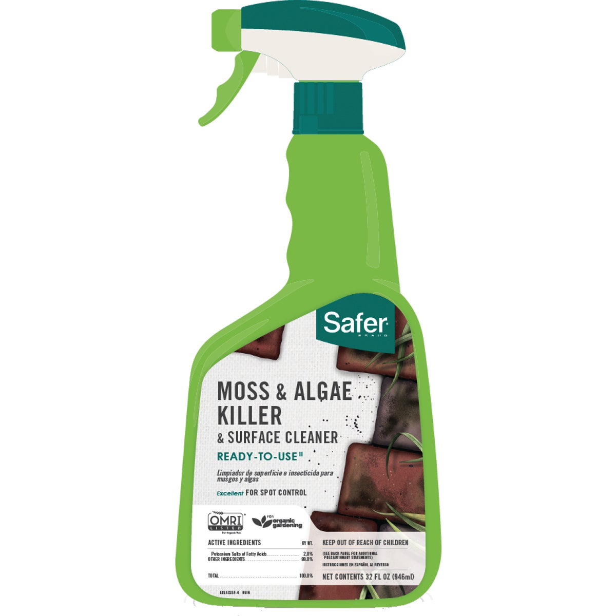 32OZ MOSS & ALGAE KILLER - 5325 by Woodstream Corp