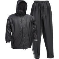 Custom Leathercraft XXL BLK NYLON RAINSUIT R1032X