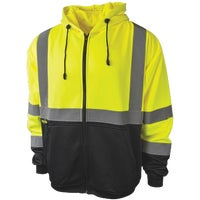 Radians Rad Wear Hooded Safety Sweatshirt, SJ01-3ZGS-L