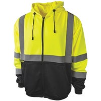 Radians Rad Wear Hooded Safety Sweatshirt, SJ01-3ZGS-XL