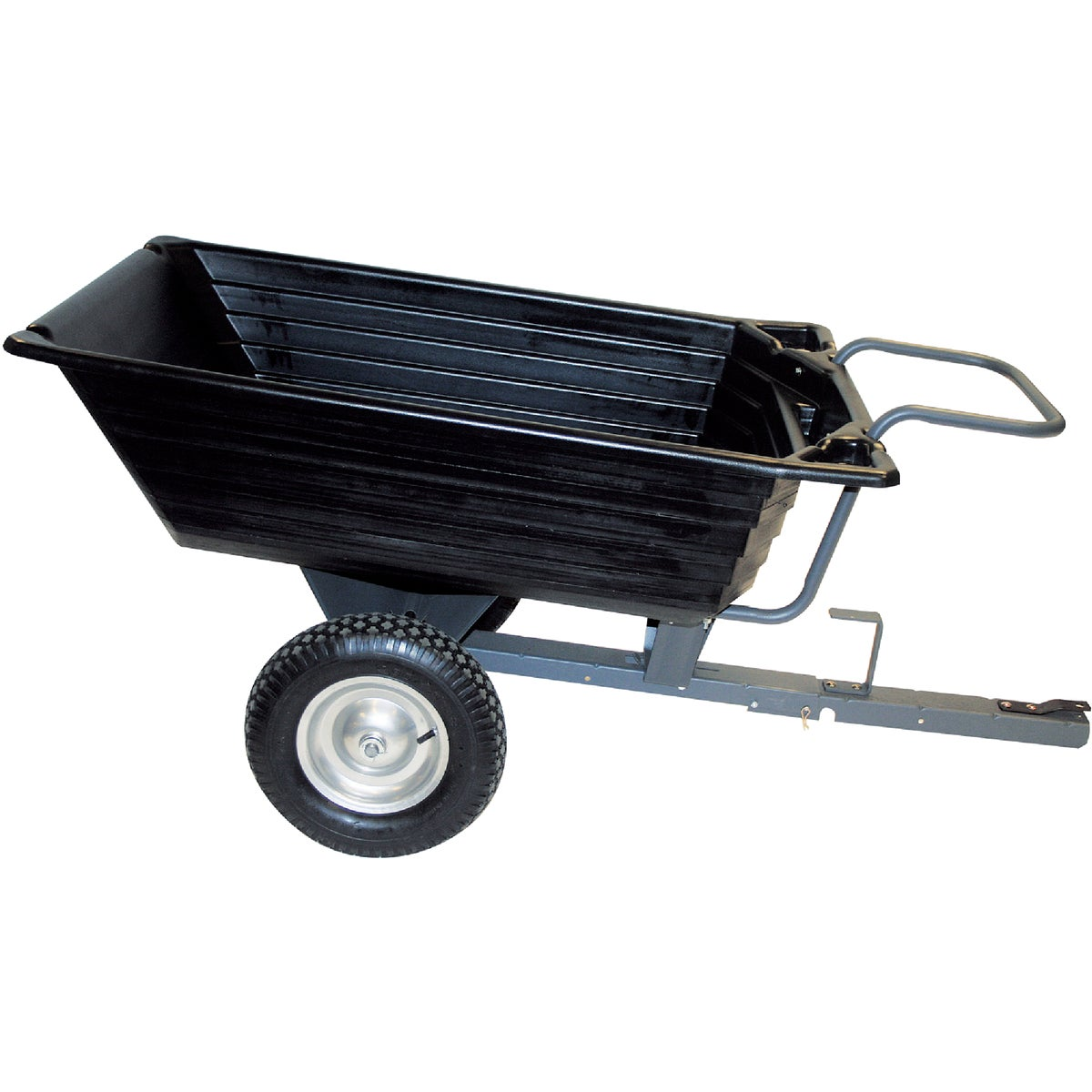 Precision Poly Tow-Behind Garden Cart, LCP1000PP