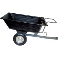 10 Cu Poly Trailer Cart