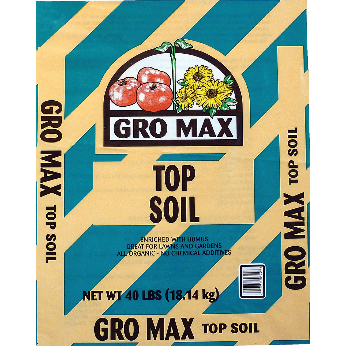 40LB TOP SOIL - 014060 by Gromax L L C