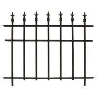 Panacea Finial Decorative Border Fence, 87103