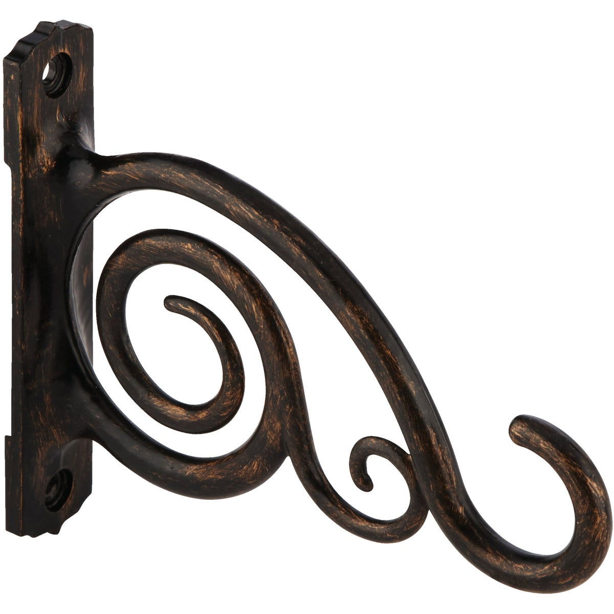 "6""SCROLL BRONZE BRACKET"