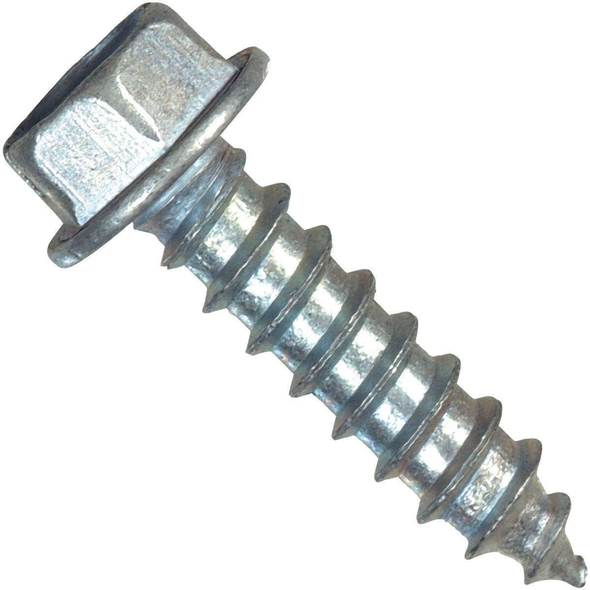 8X1-1/4 HWH ST MTL SCREW - 70283 by Hillman Fastener