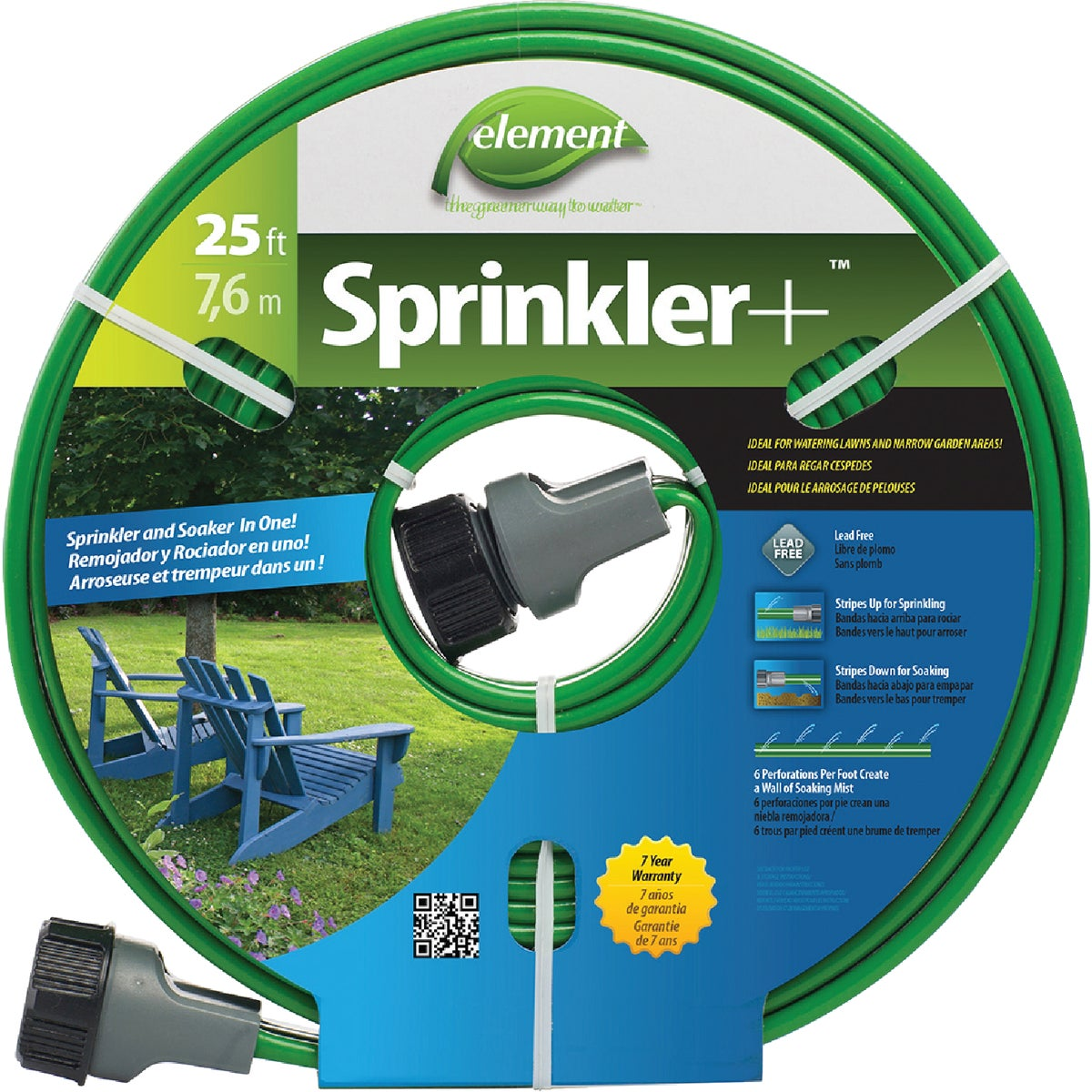 25' SPRINKLER HOSE - CSNTEC025 by Colorite  Swan