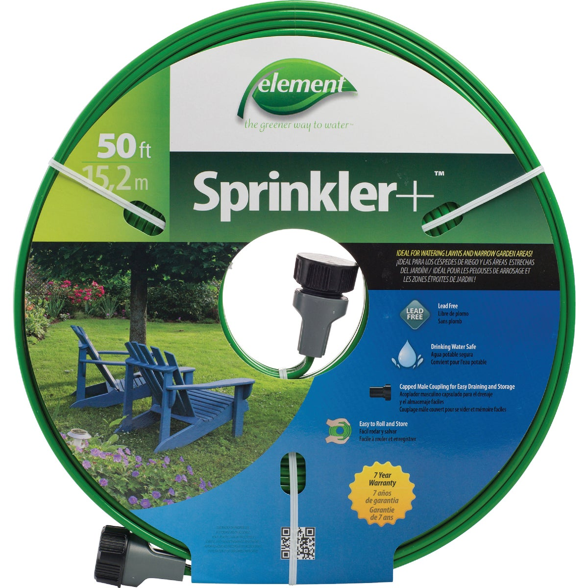 50' SPRINKLER HOSE - SNTEC050 by Colorite  Swan