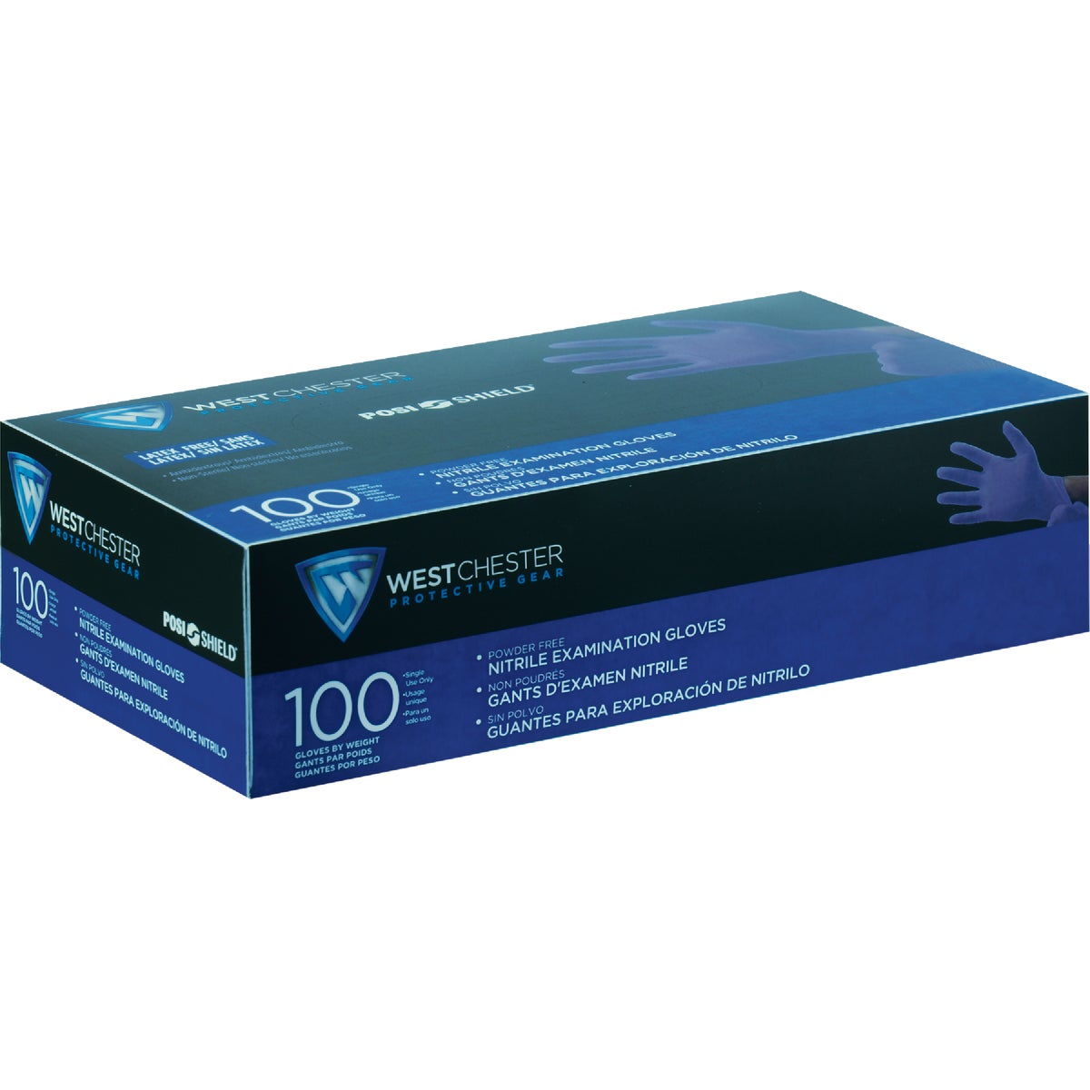 MED EXAM NITRILE GLOVE - 2930/M by West Chester Incom