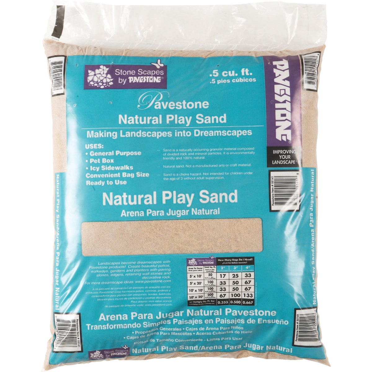.5 CU FT PLAY SAND - 55141 by Pavestone Company Lp