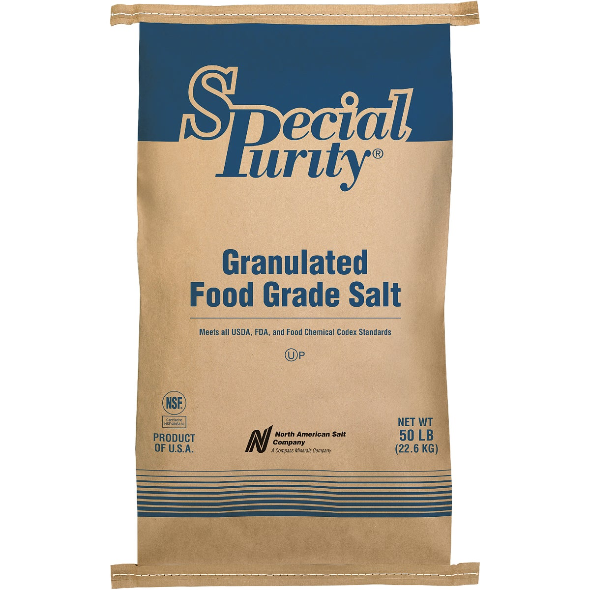 FOOD GRD UNTREATED SALT