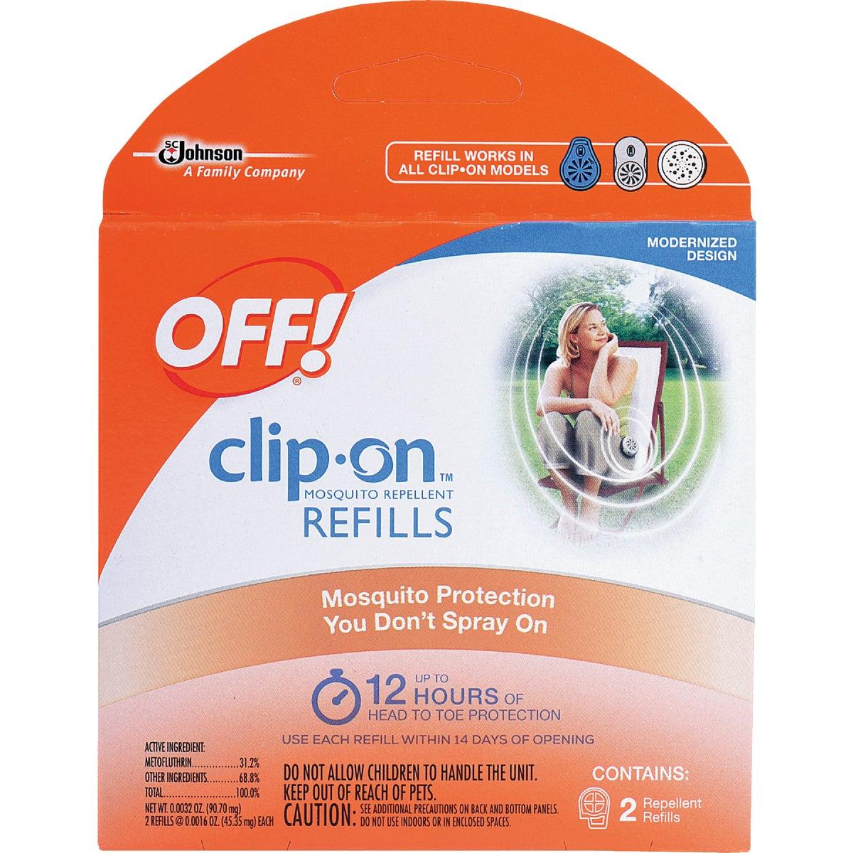 2Pk Clip-On Repel Refill