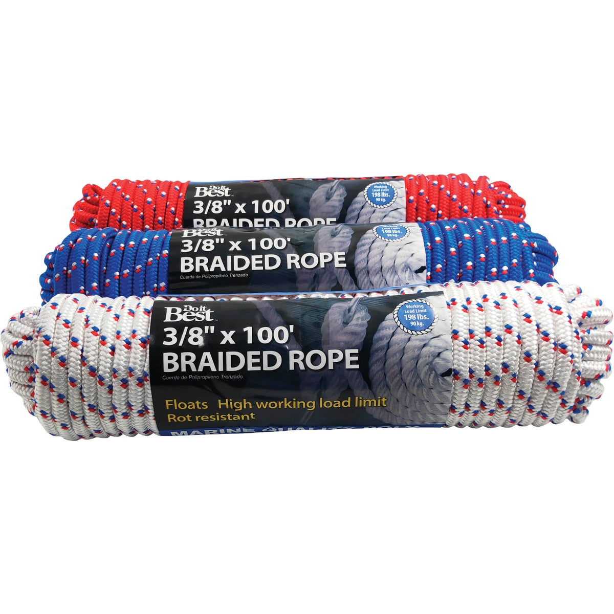 3/8X100 POLYBRAID ROPE - 703153 by Do it Best
