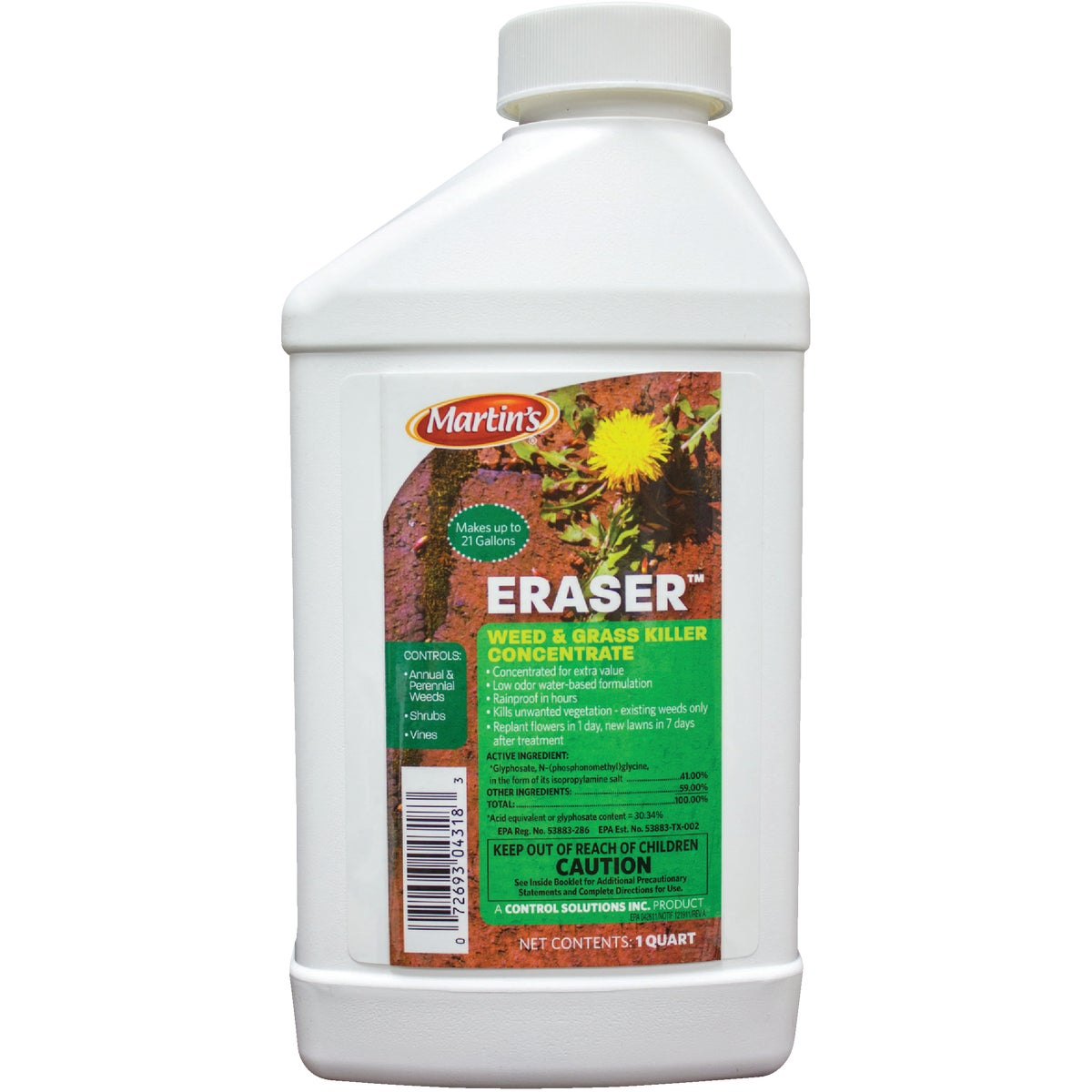 QT ERASR WD&GRASS KILLER