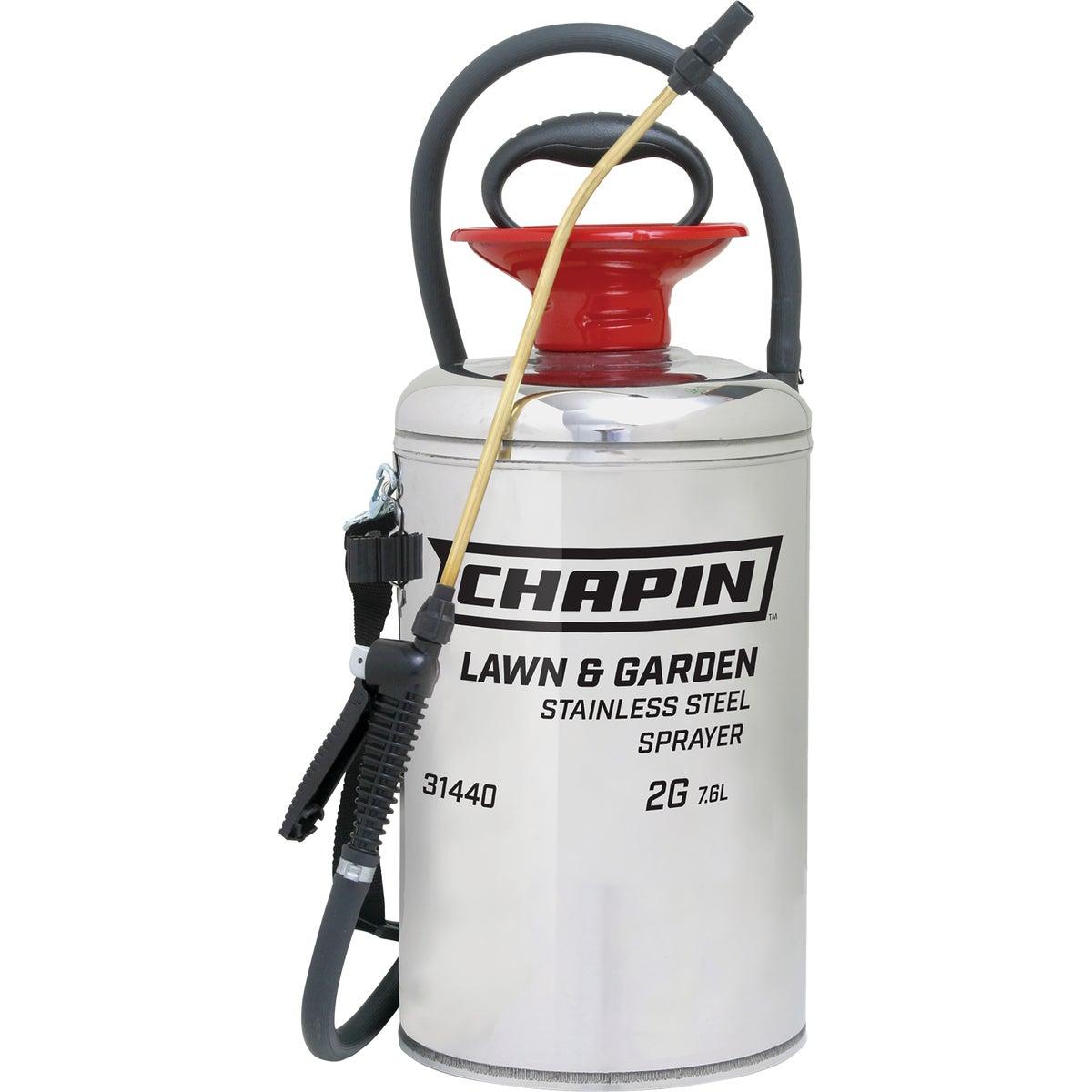 Chapin 31440 2-Gallon Lawn & Garden Series Stainless Steel Sprayer