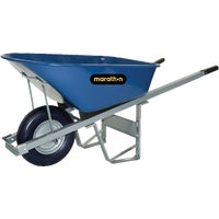 6Cu Ft Steel Wheelbarrow