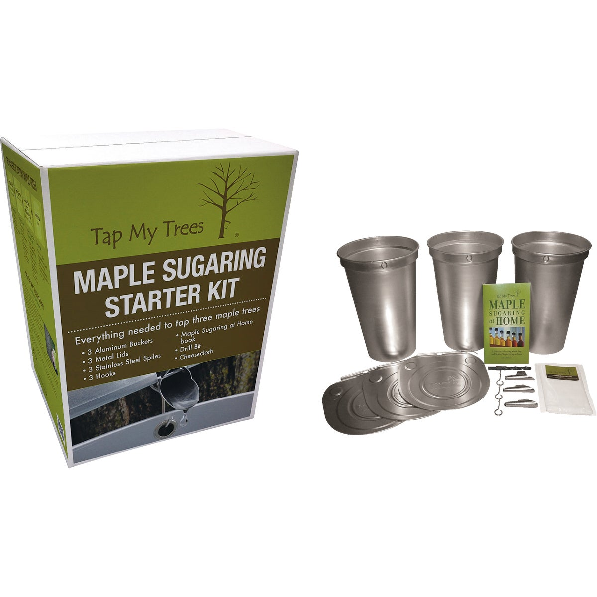 MAPLE SUGARING START KIT - TMT02220 by Tap My Trees