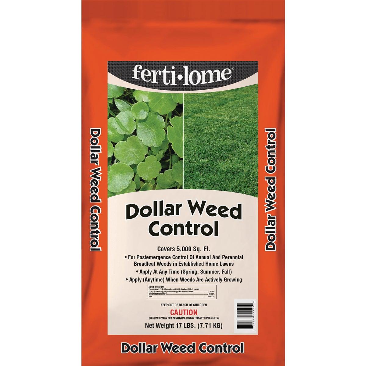 17LB DOLLR WEED CONTROL