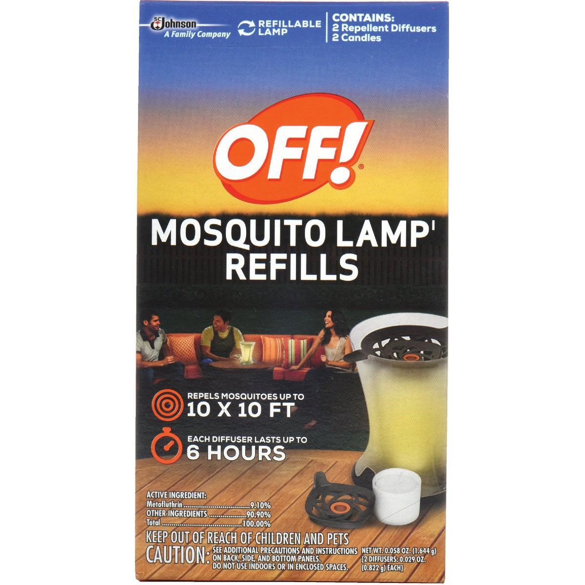 2Pk Mosq Lamp Refill