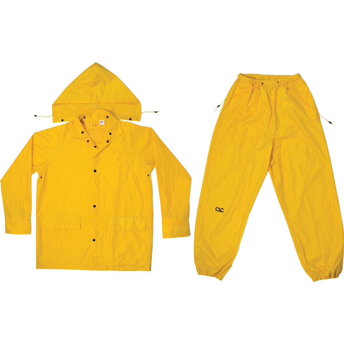 MED 3PC YEL RAIN SUIT