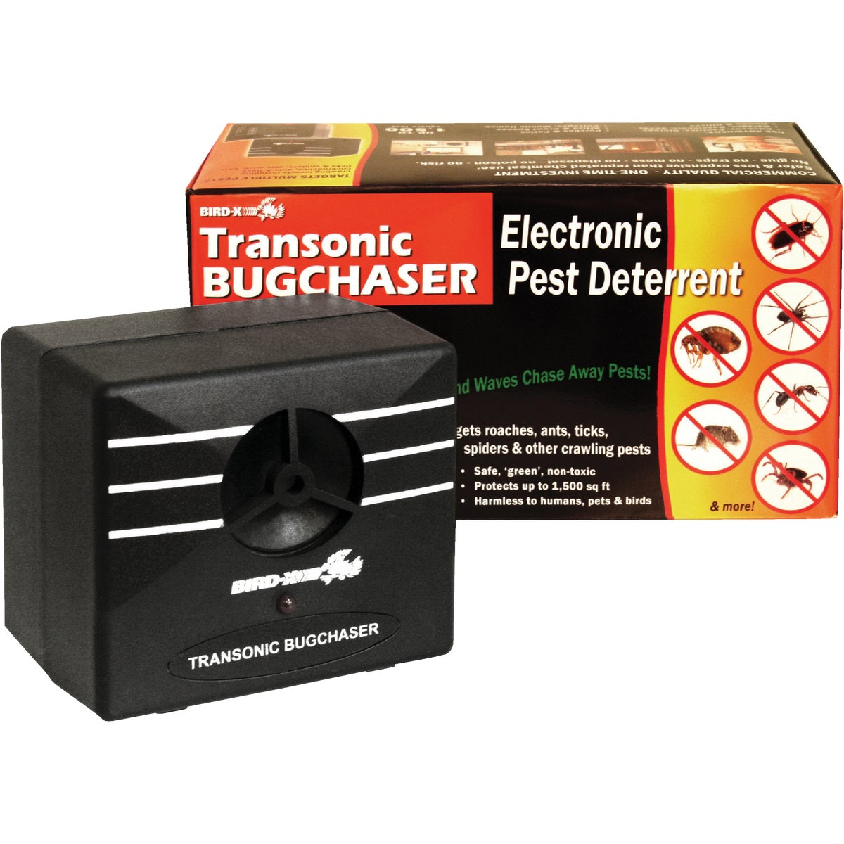 ULTRASONIC PEST REPELLER - TX-BUG by Bird X Inc