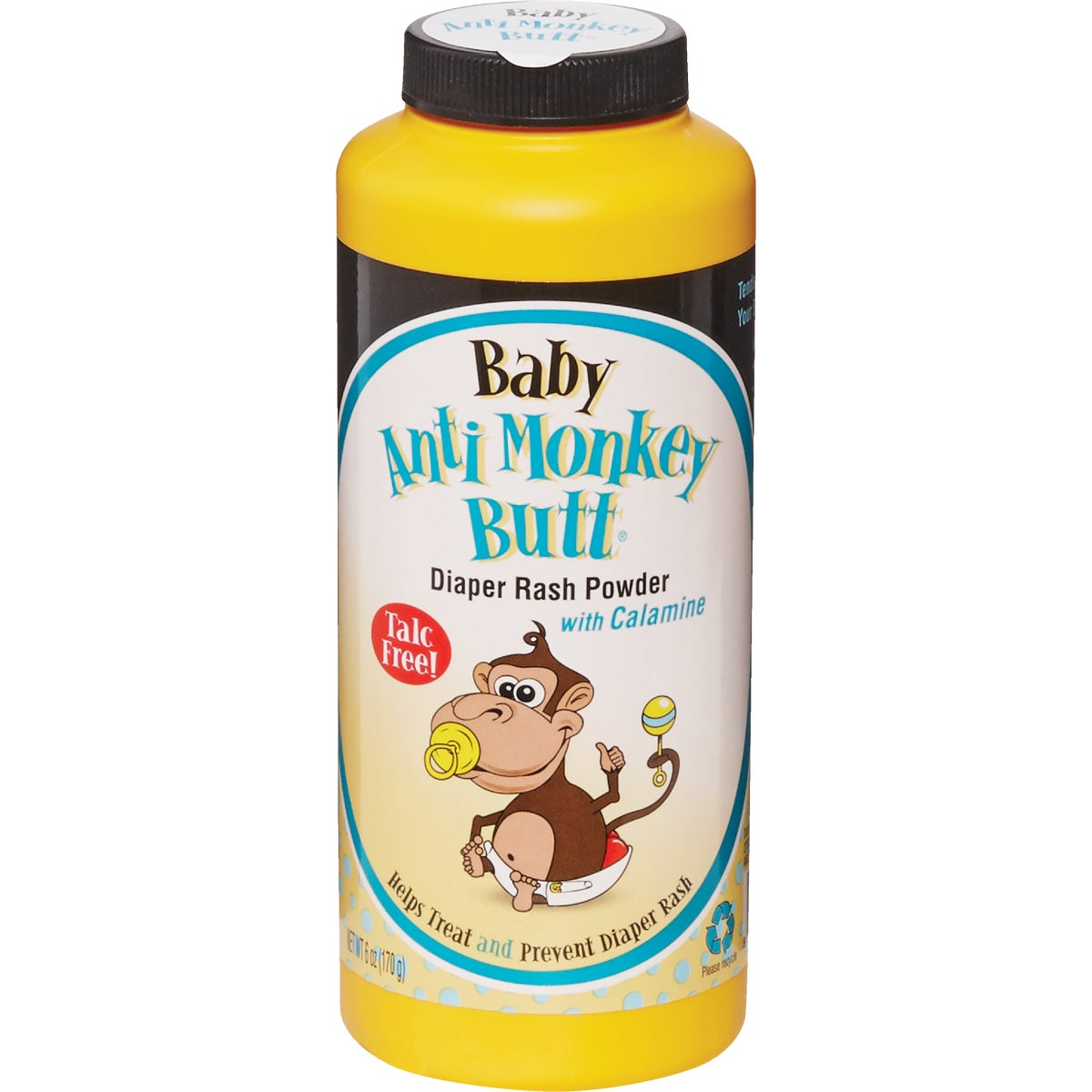 6OZ BABY ANTIMNKY POWDER - 00030 by Anti Monkey Butt Dse