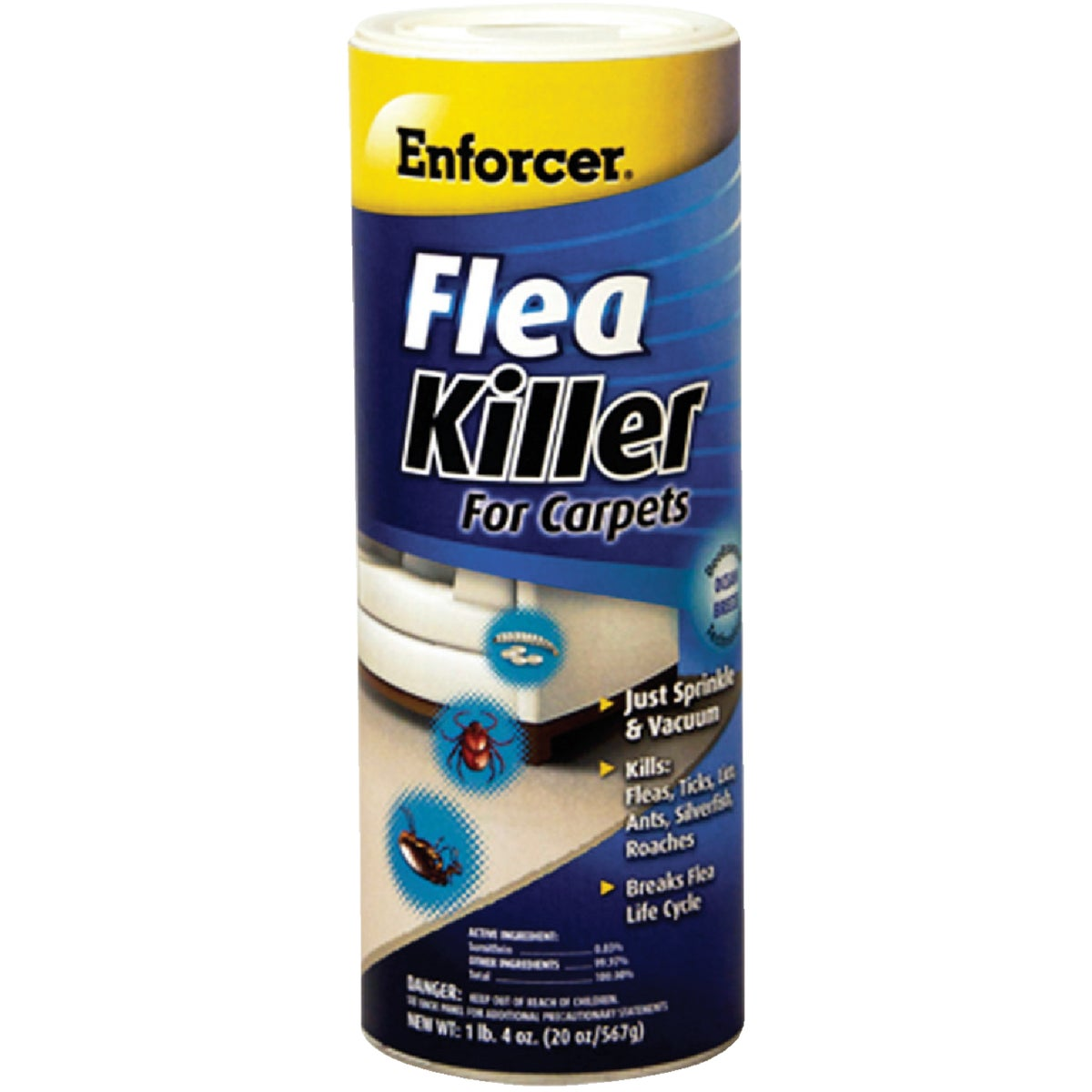Enforcer Prod. 16OZ CARPET FLEA KILLER CFF16