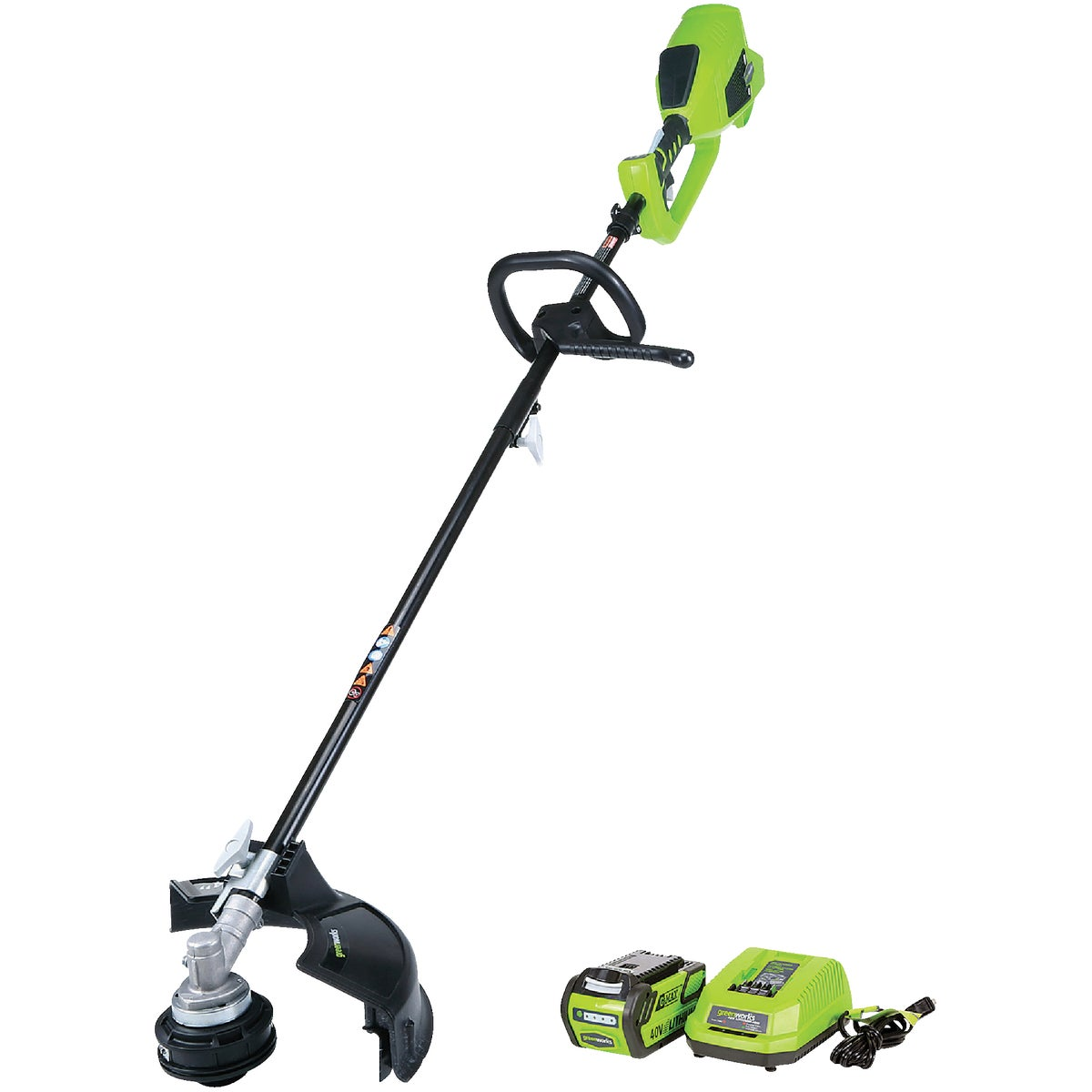 Greenworks G-Max 40V 14 In. Cordless String Trimmer, 2100702
