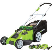 Greenworks G-MAX Twin Force Cordless Lawn Mower1-3/8 In, 25302
