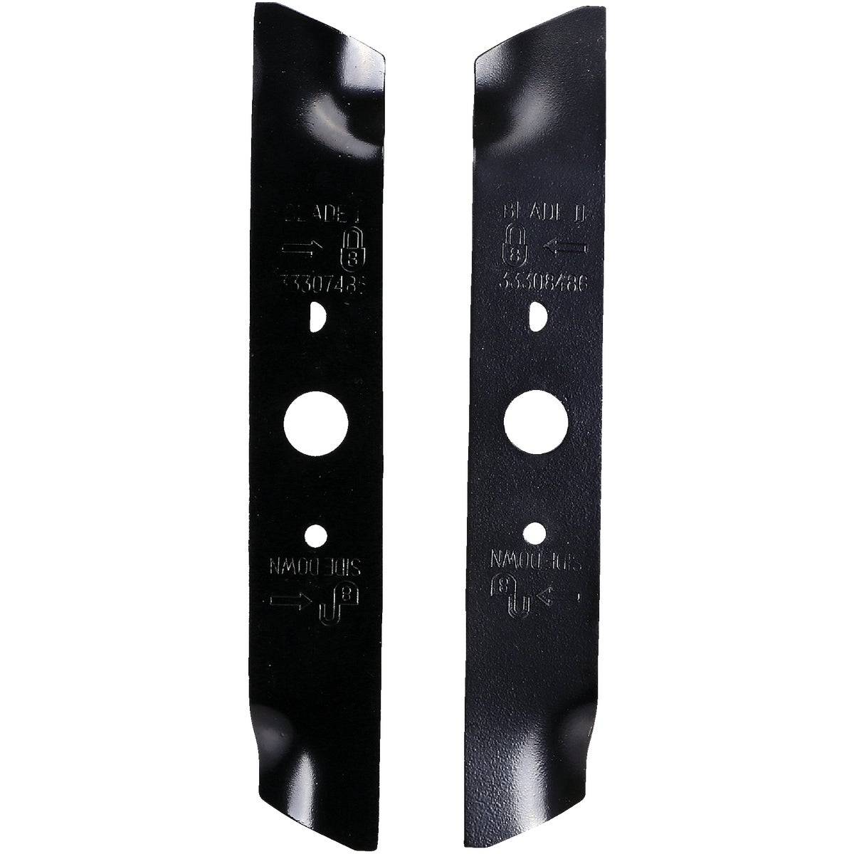 Greenworks Dual Blade Replacement Blades, 29712