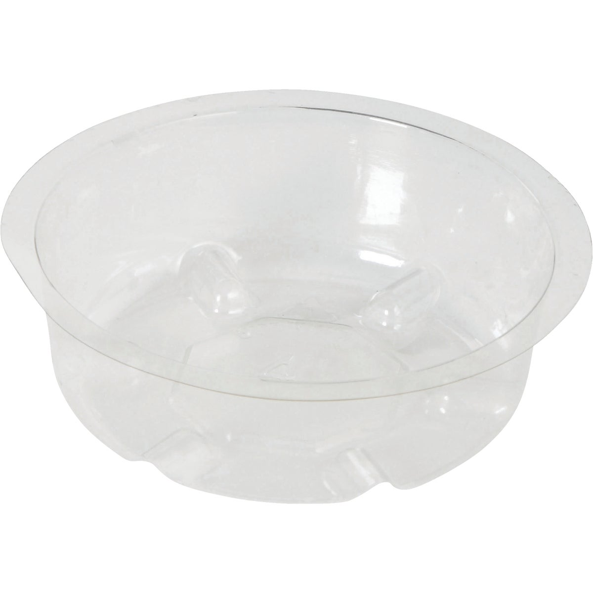"4"" CLEAR VINYL SAUCER - VS4 by Woodstream Corp"