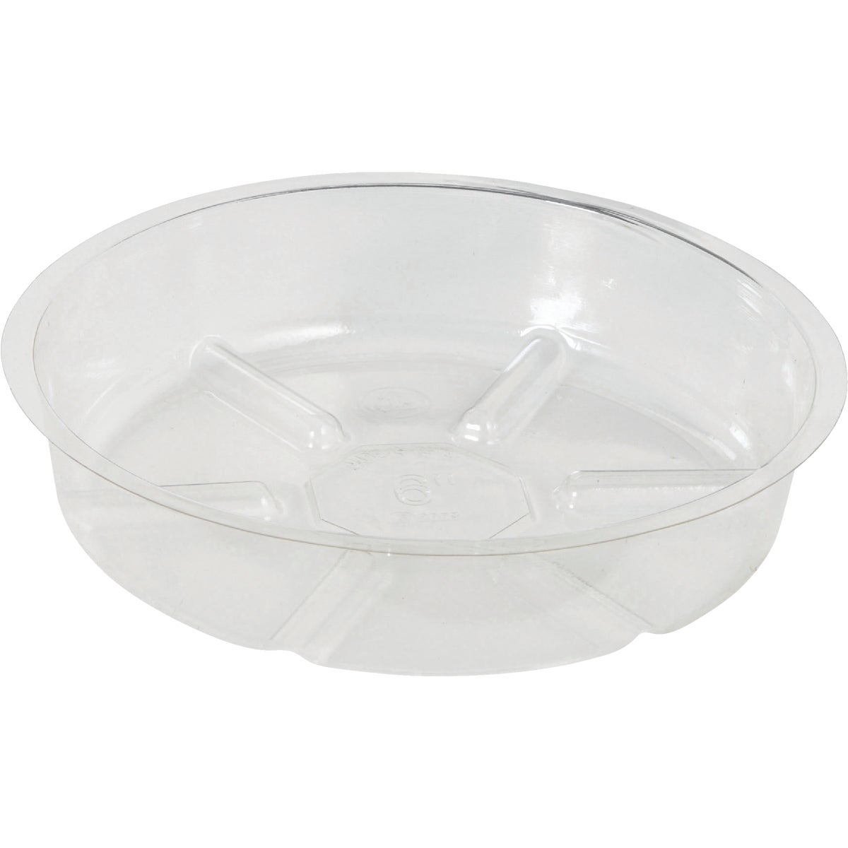 "6"" CLEAR VINYL SAUCER - VS6 by Woodstream Corp"