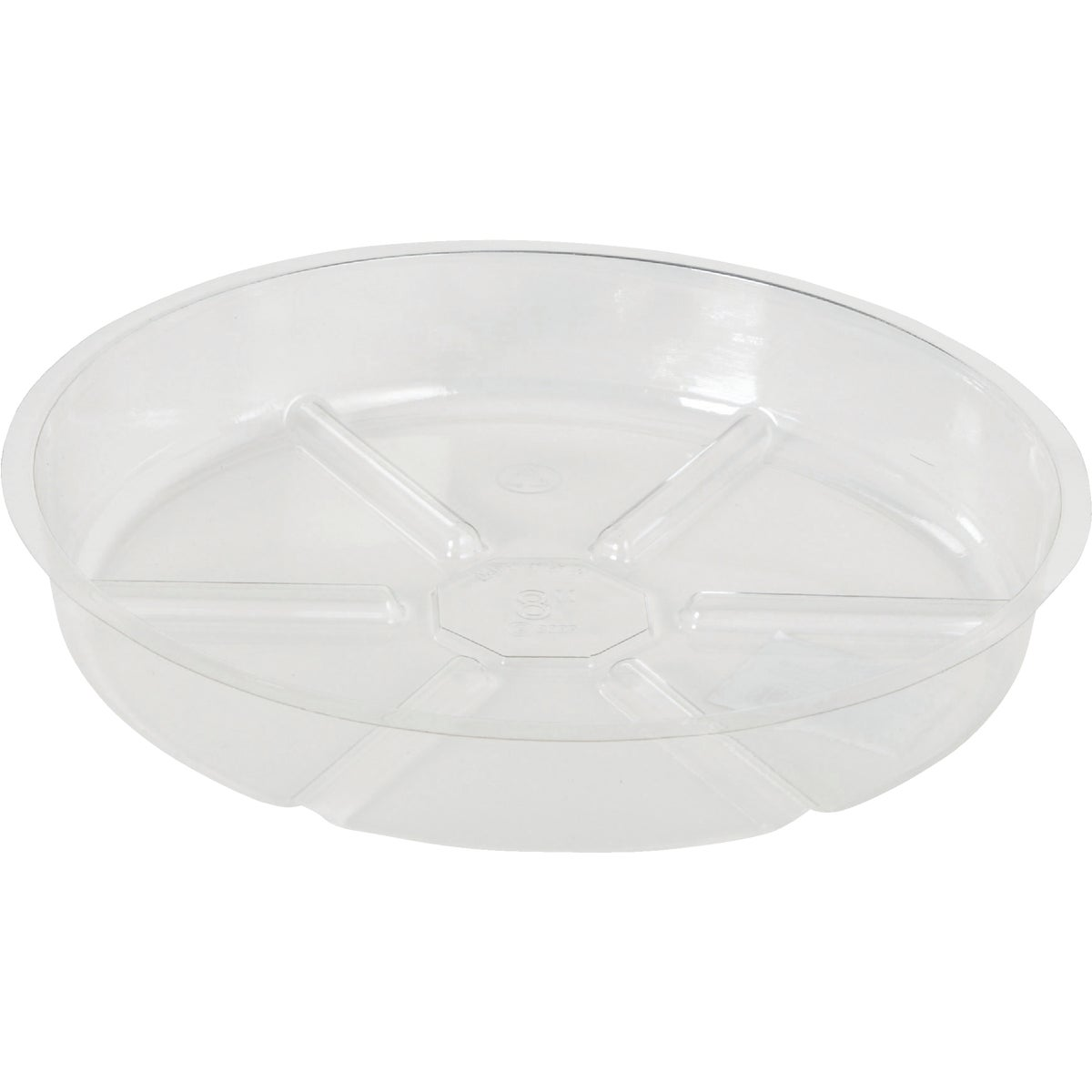 "8"" CLEAR VINYL SAUCER - VS8 by Woodstream Corp"