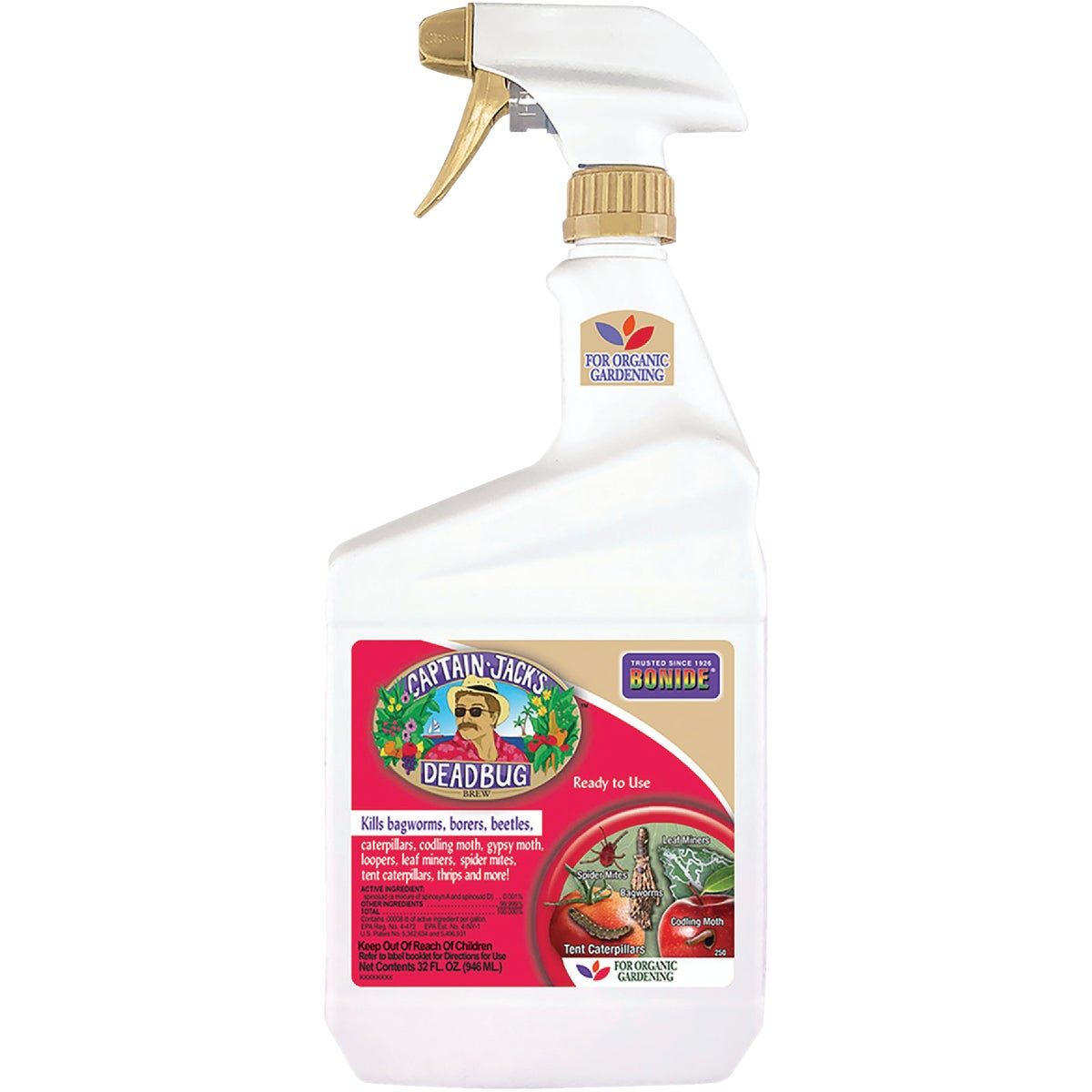 1QT RTU DEADBUG INSECT - 250 by Bonide