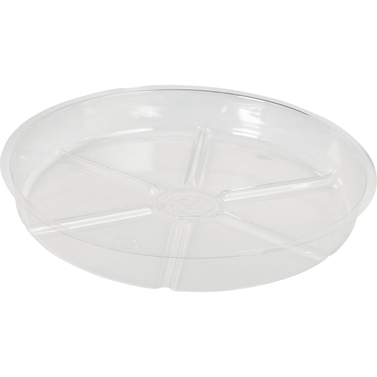 "10"" CLEAR VINYL SAUCER - VS10 by Woodstream Corp"