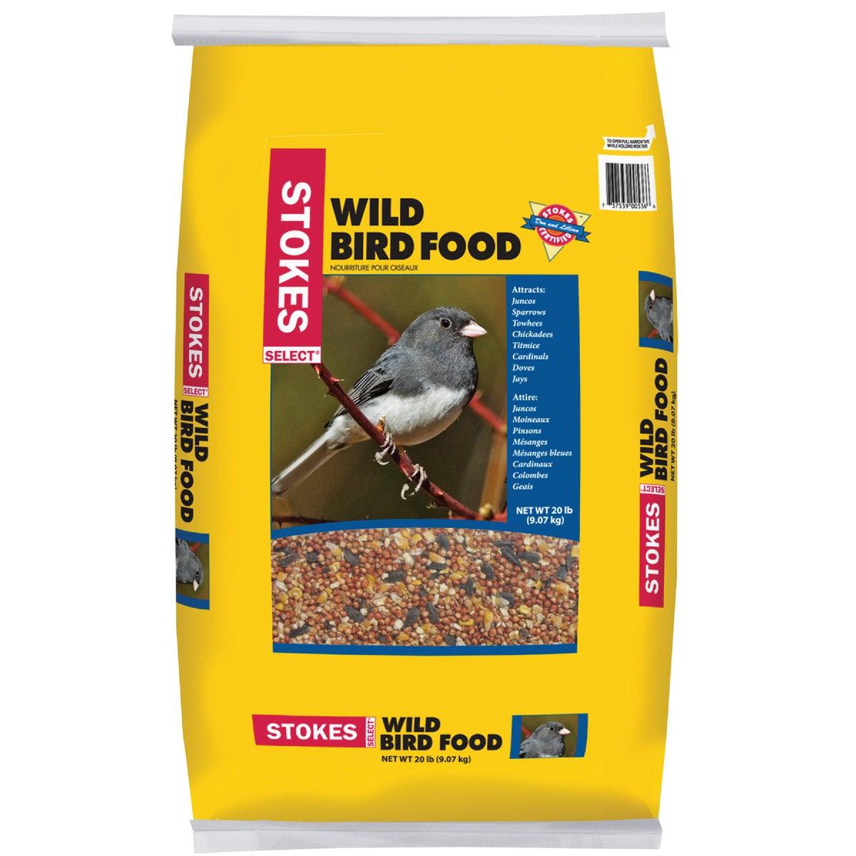 20LB SLCT WILD BIRD SEED