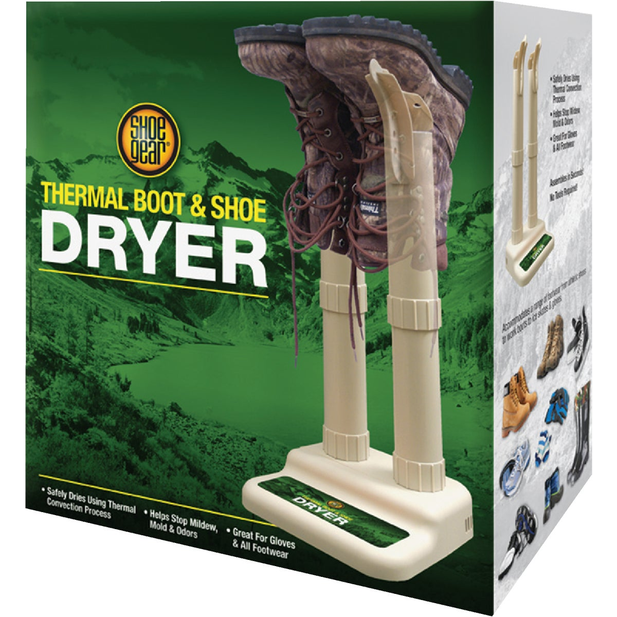 CNVRTBL STACK BOOT DRYER - 795-07 by Westminster Pet