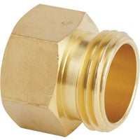 Best Garden Brass Non-Swivel Hose Connector, BG50578