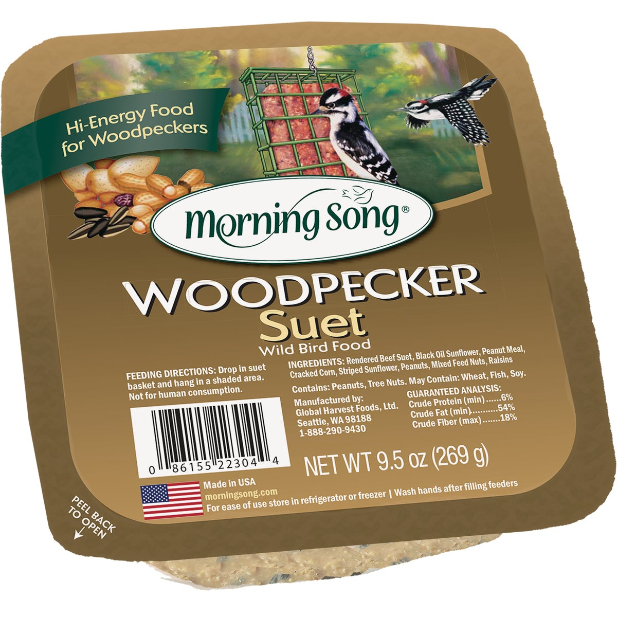 WOODPECKER SUET - 848 by Red River Commod