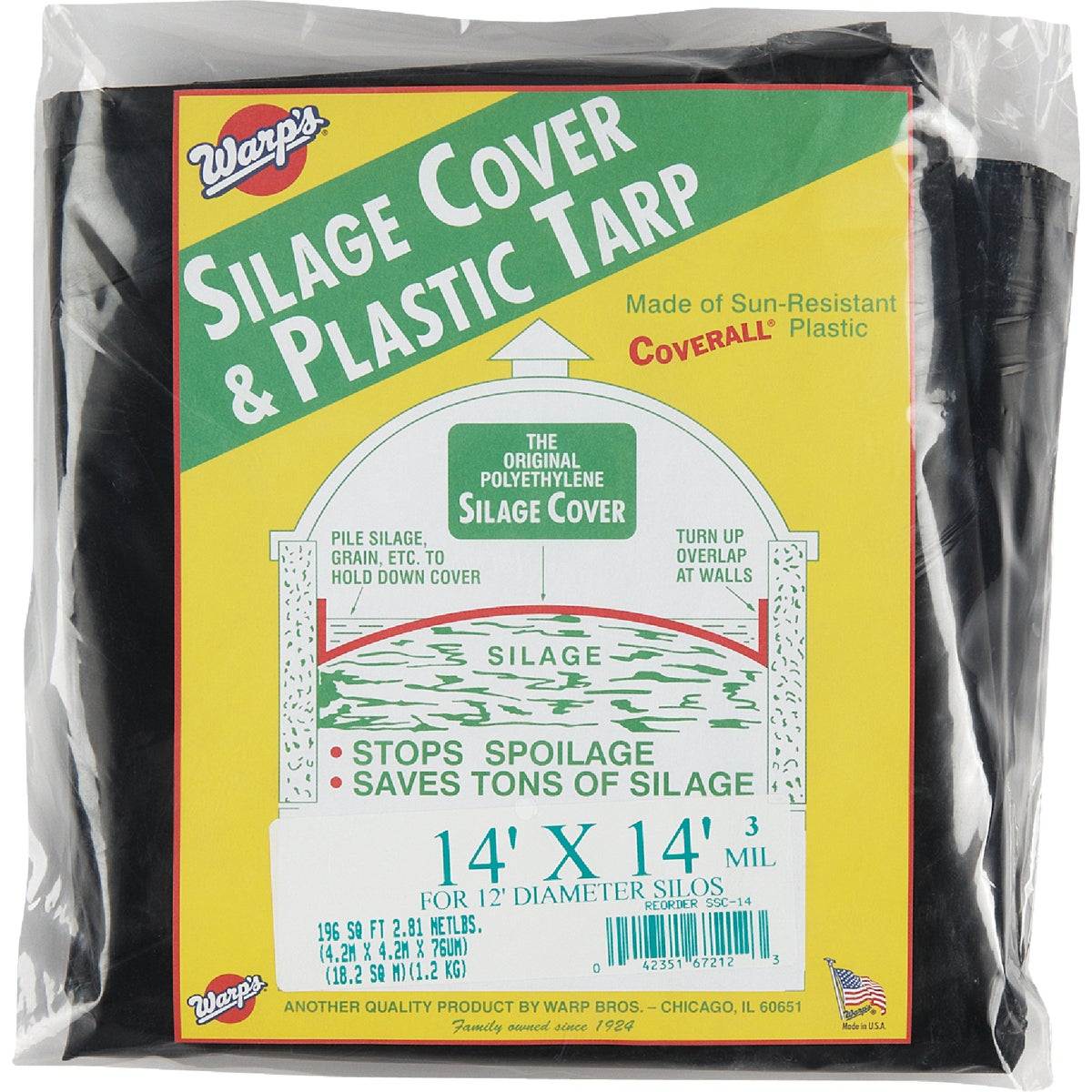14X14 SILAGE COVER